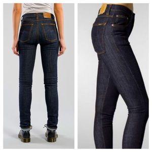 Nudie High Kai Organic Denim Skinny Jeans